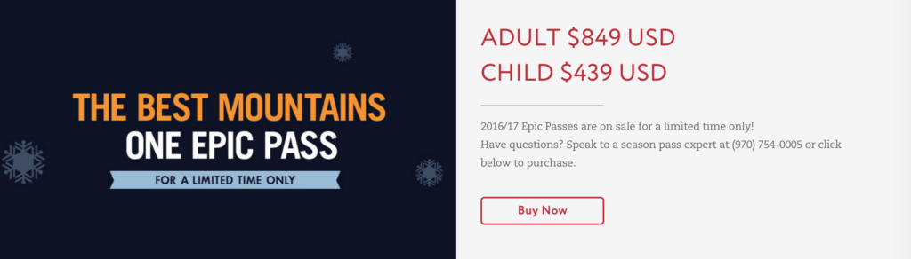 Whistler Blackcomb now accepts the EPIC Pass from Vail Mountain Resorts - 5 Days Free Skiing