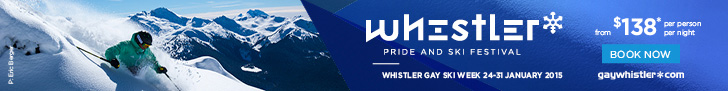 Whistler Pride and Ski Festival Stay and Play from 138PPN