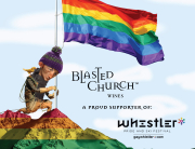 Blasted Church Wine at Whistler Pride