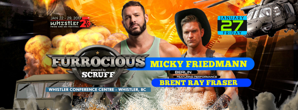 Furrocious with Micky Friedmann + Brent Ray Fraser