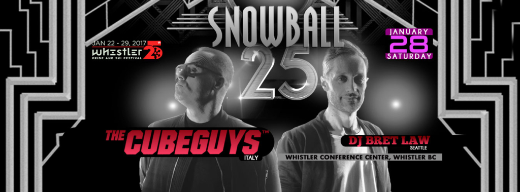 SNOWBALL25 - The Cube Guys and DJ Bret Law