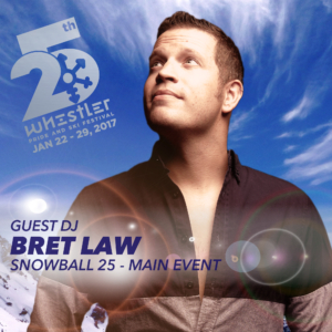 DJ Bret Law opens Snowball25 at Whistler Pride and Ski Festival