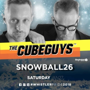The Cube Guys (Italy) at Snowball26 opening set by DJ Mat Ste-Marie (Montreal)