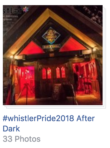 Pride After Dark at Whistler Pride 2018