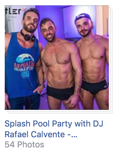 Splash Pool Party Photos at Whistler Pride 2018
