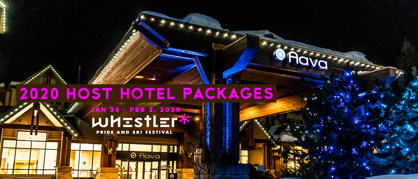 2020 Whistler Pride Aava Hotel Packages
